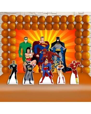 Kit Festa Liga da Justiça...