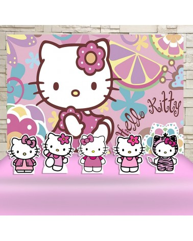 Kit Festa Hello Kitty (Prata)