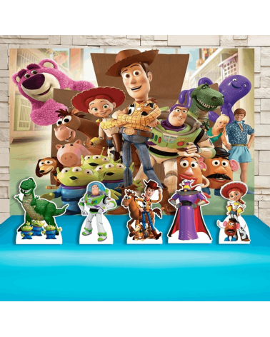 Kit Festa Toy Story (Prata)