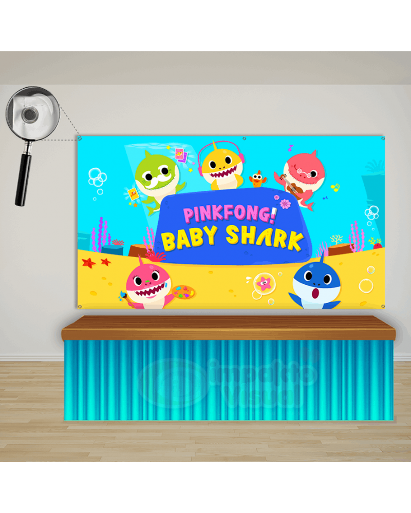 Painel Baby Shark