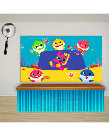 Painel Baby Shark