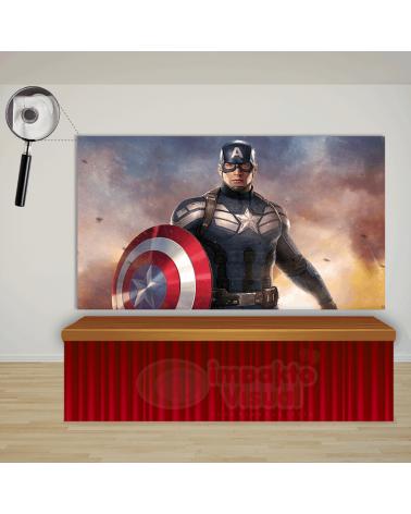Painel Capitão América