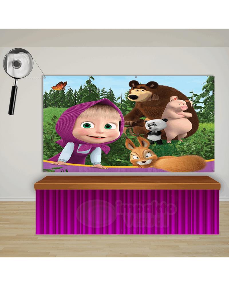 Display Animais Safari