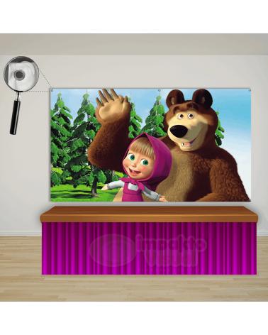 Painel Masha e o Urso