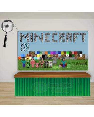 Painel Minecraft