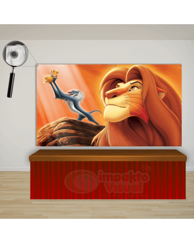 Painel Rei Leão