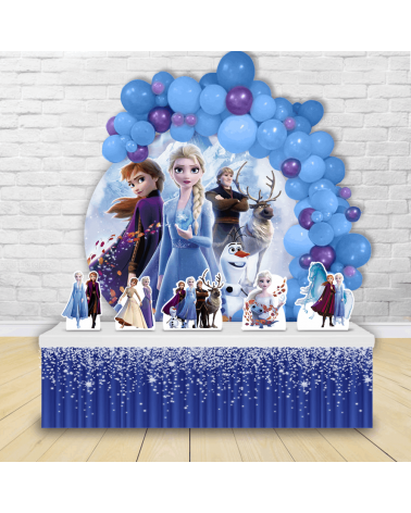 Kit Festa Redondo Frozen 2