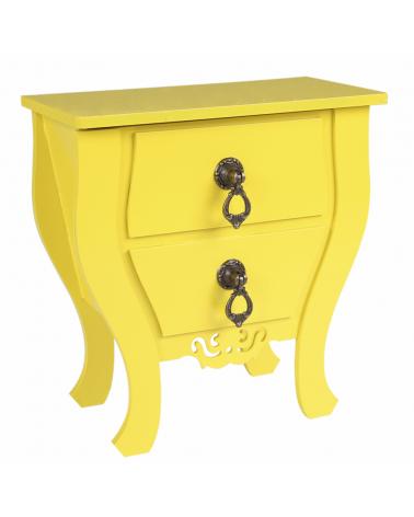 Mini Baú Bombe Amarelo
