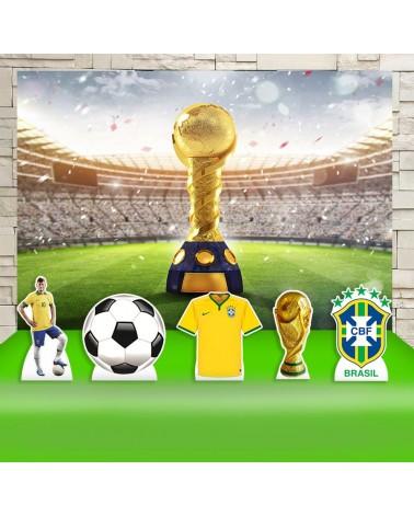 Kit Festa Brasil Futebol...