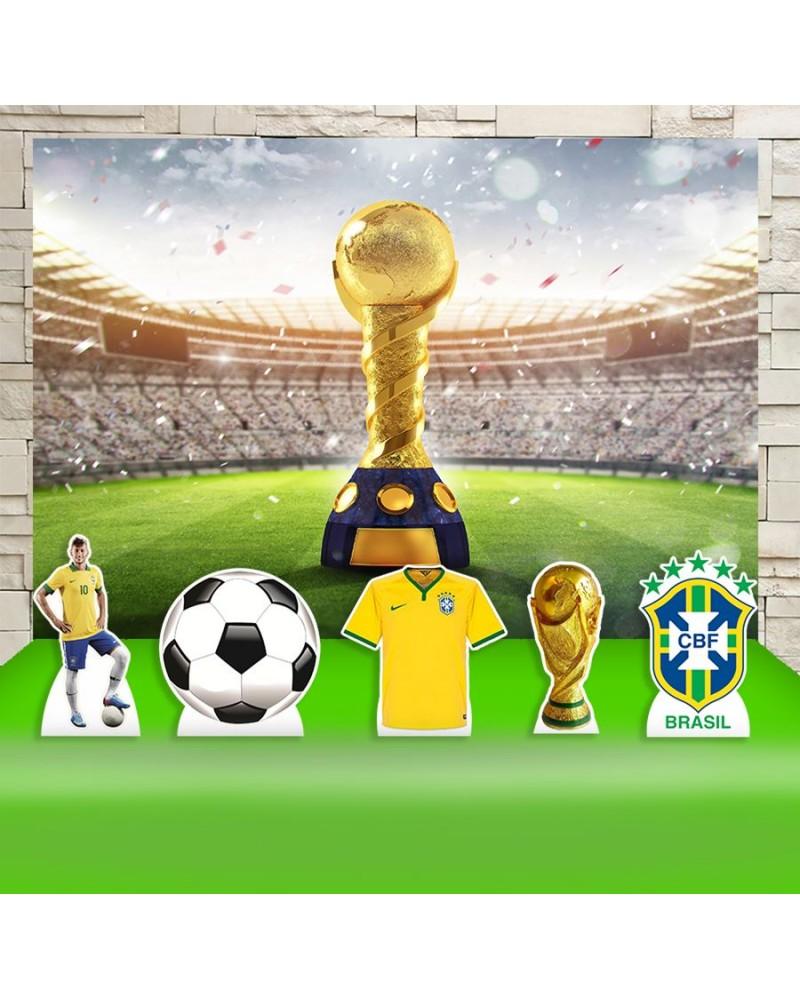 Kit Festa Brasil Futebol Clube (Prata)
