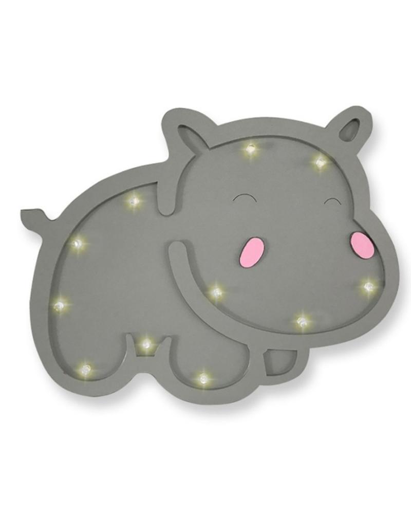 Luminoso Hipopótamo
