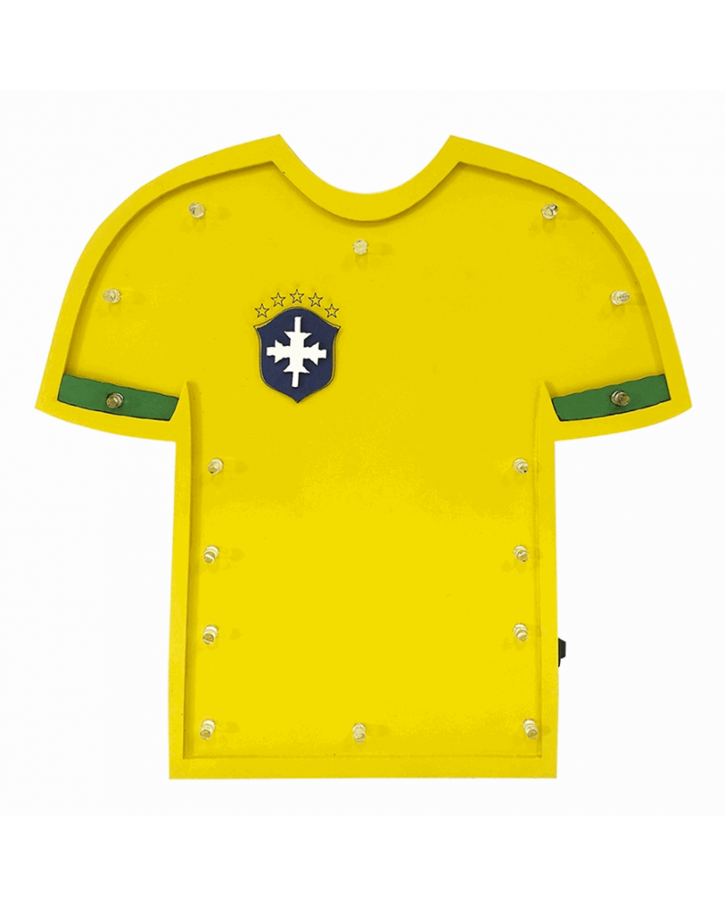 Luminoso Camiseta Brasil