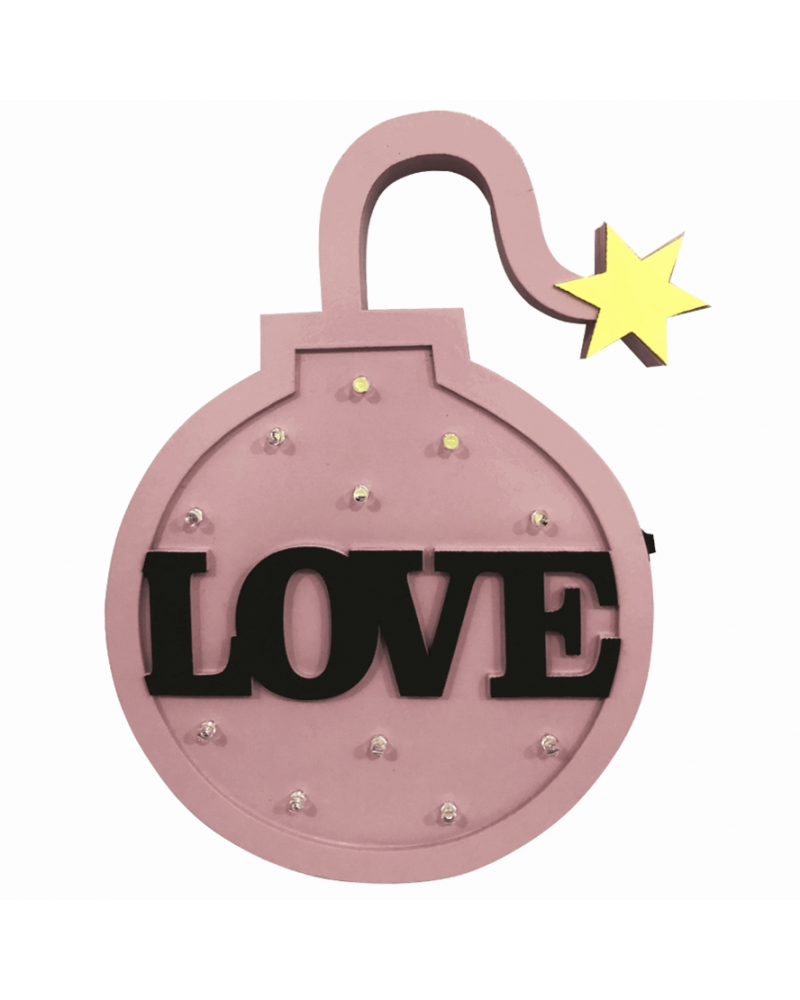 Luminoso Bomba Love