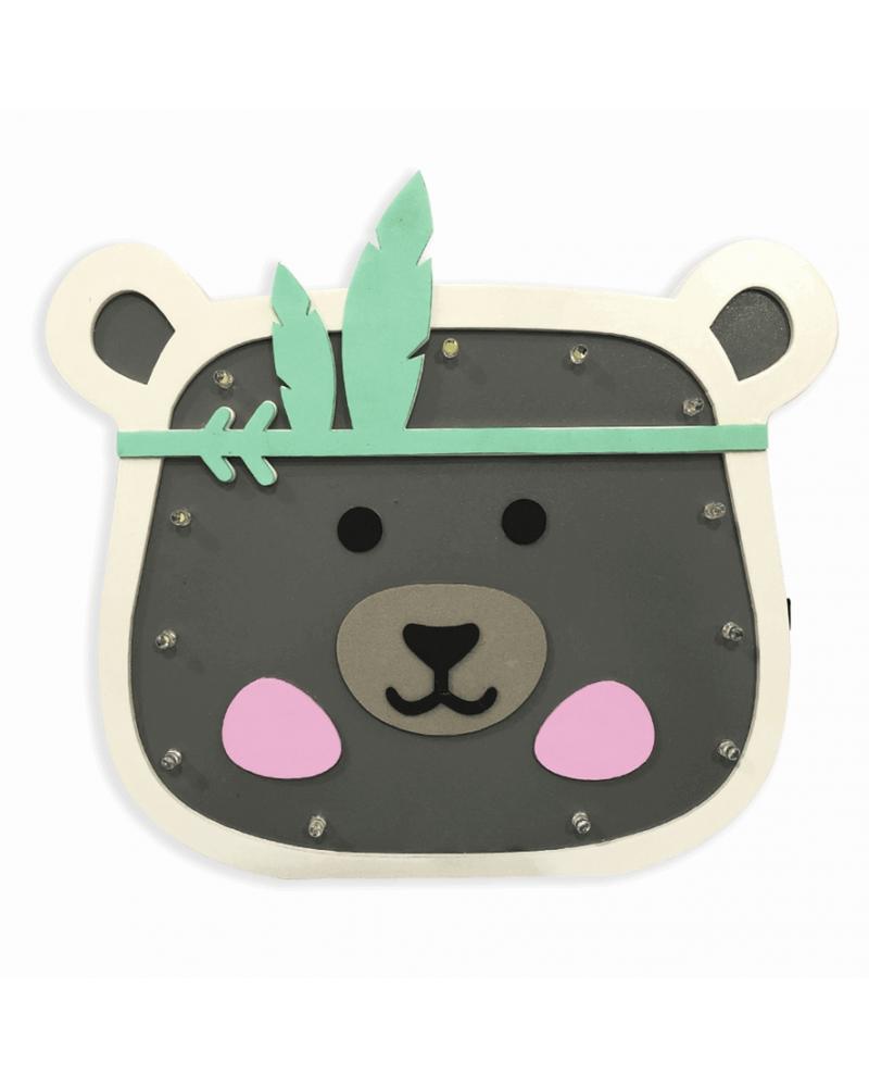 Luminoso Panda Índio