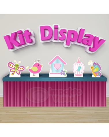 Kit Display Jardim Encantado