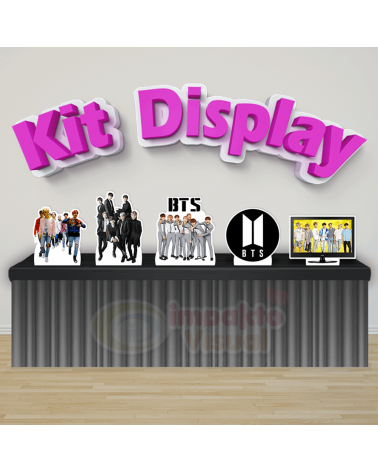 Kit Display BTS