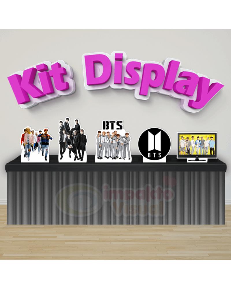 Kit Display BTS