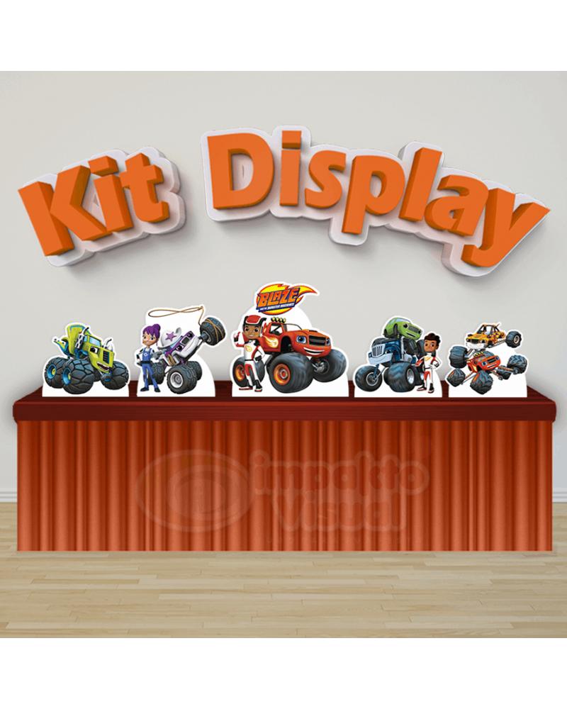 Kit Display Blaze and the Monster...