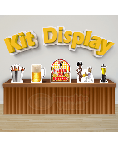 Kit Display Boteco