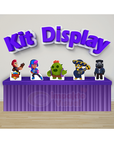 Kit Display Brawl Stars