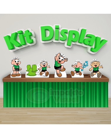 Kit Display Cebolinha