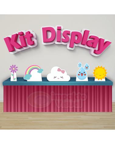 Kit Display Chuva de Amor