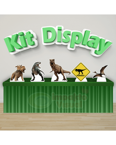 Kit Display Dinossauro