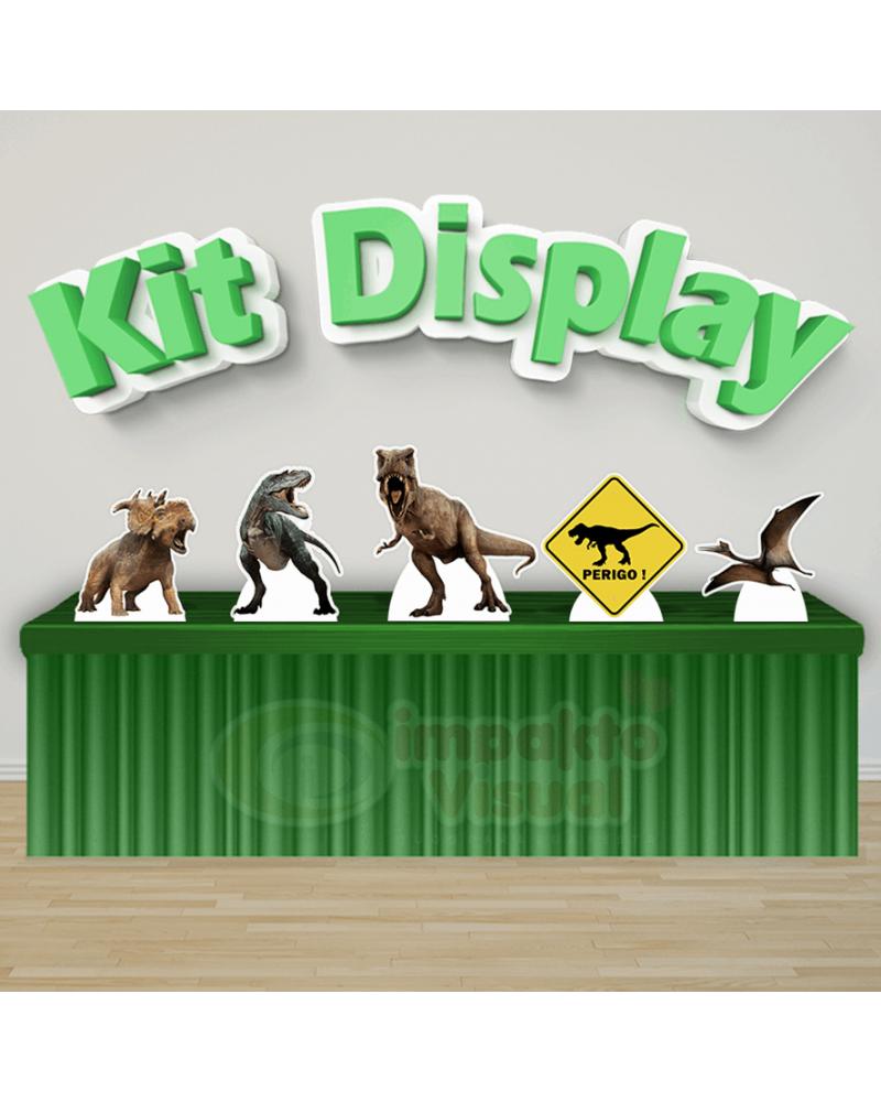 Kit Display Dinossauro