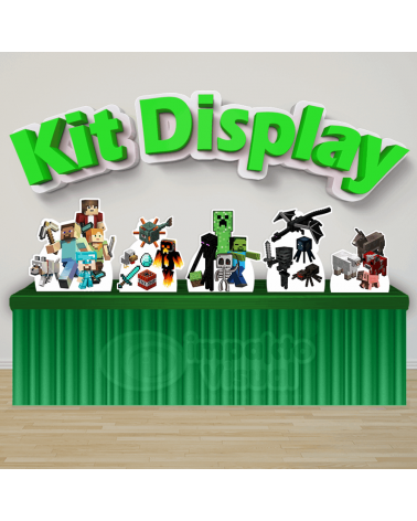 Kit Display Minecraft