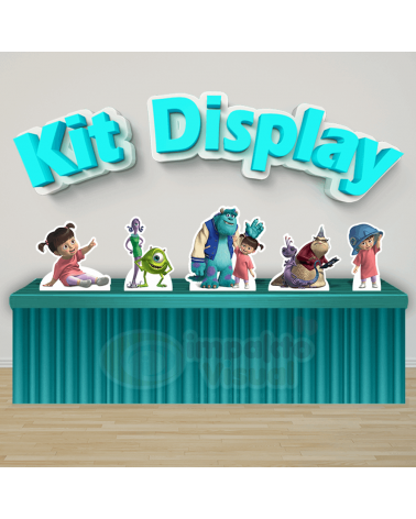 Kit Display Monstros SA