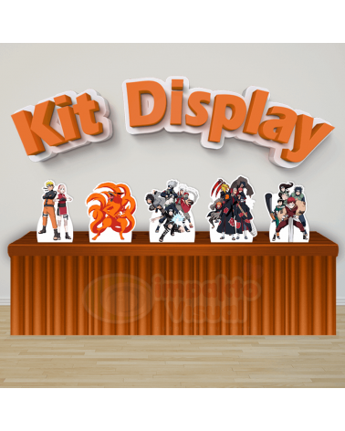 Kit Display Naruto