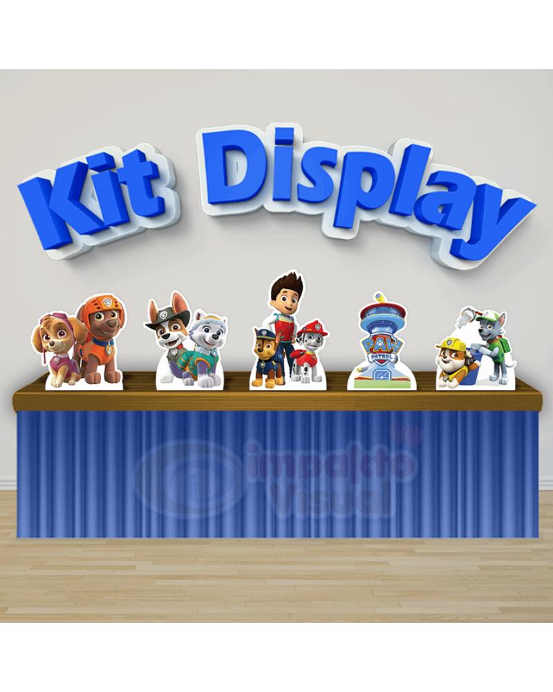 Kit Display Patrulha Canina