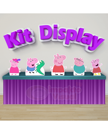Kit Display Peppa Pig