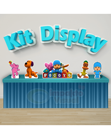Kit Display Pocoyo