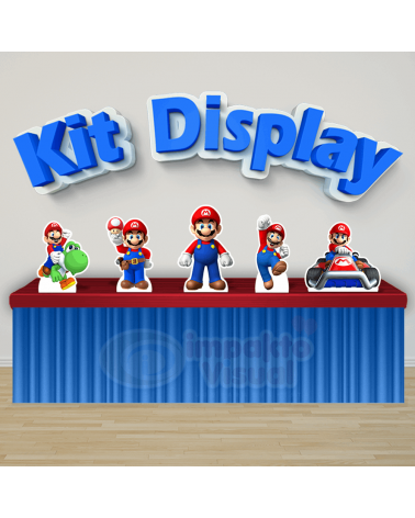 Kit Display Mario