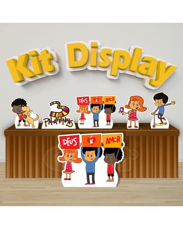 Kit Display 3 Palavrinhas...