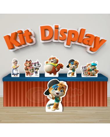 Kit Display 44 Gatos...