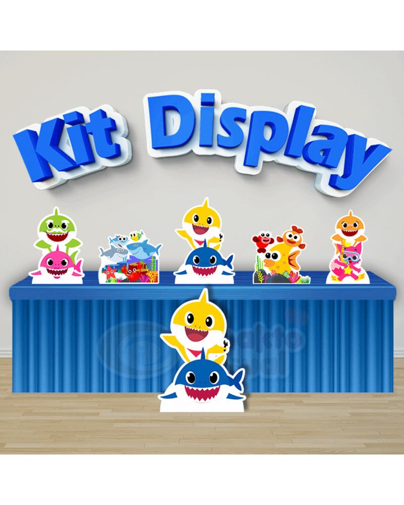 Kit Display Baby Shark (Diamante)