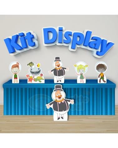 Kit Display Bita no Fundo...