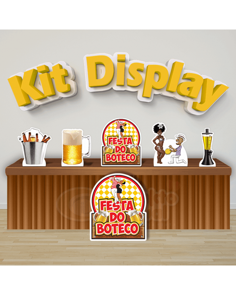 Kit Display Boteco (Diamante)
