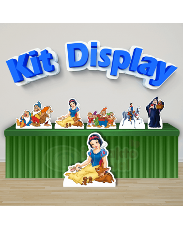Kit Display Branca de Neve...