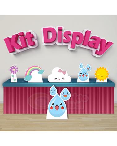 Kit Display Chuva de Amor...