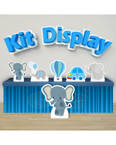 Kit Display Elefantinho...