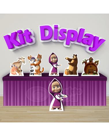 Kit Display Masha e o Urso...