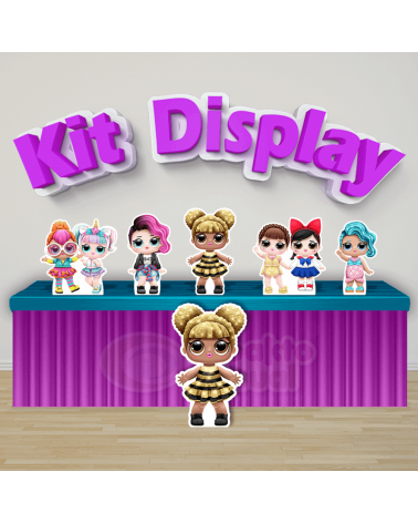 Kit Display LOL Queen Bee...