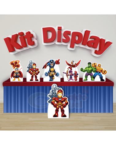 Kit Display Esquadrão de...