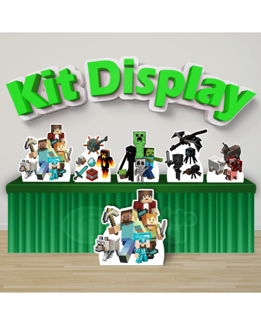 Kit Display Minecraft...