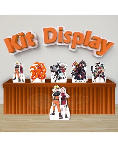 Kit Display Naruto (Diamante)