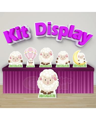 Kit Display Ovelhinha Rosa...