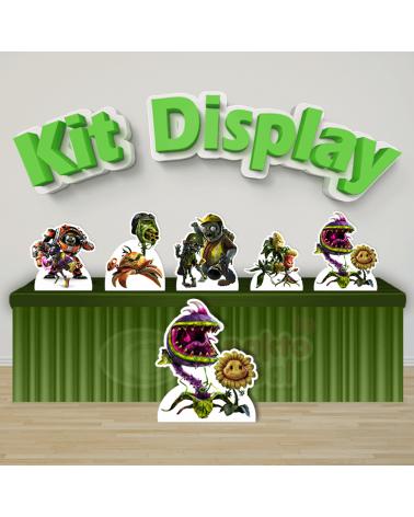 Kit Display Plants Vs Zumbi...